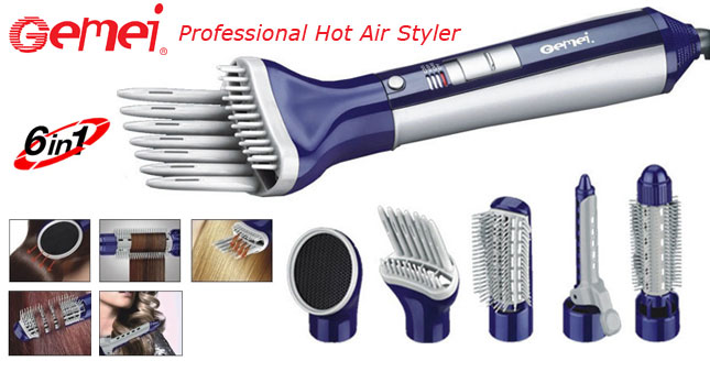 50% OFF! Gemei GM-4834 Professional Hot Air Styler worth Rs.4,900 for just Rs. 2,450!